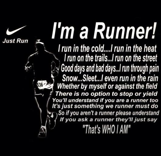 i'm a runner inspiration running