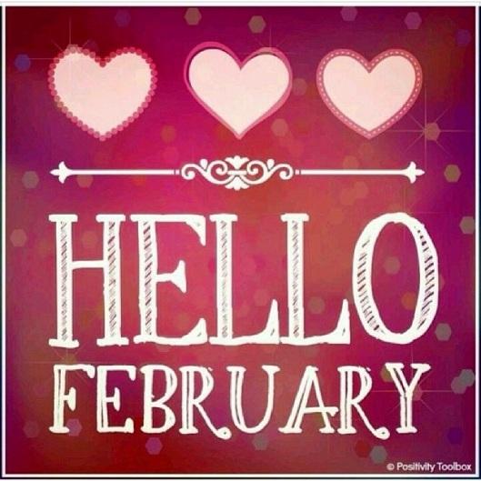 hello february inspiration