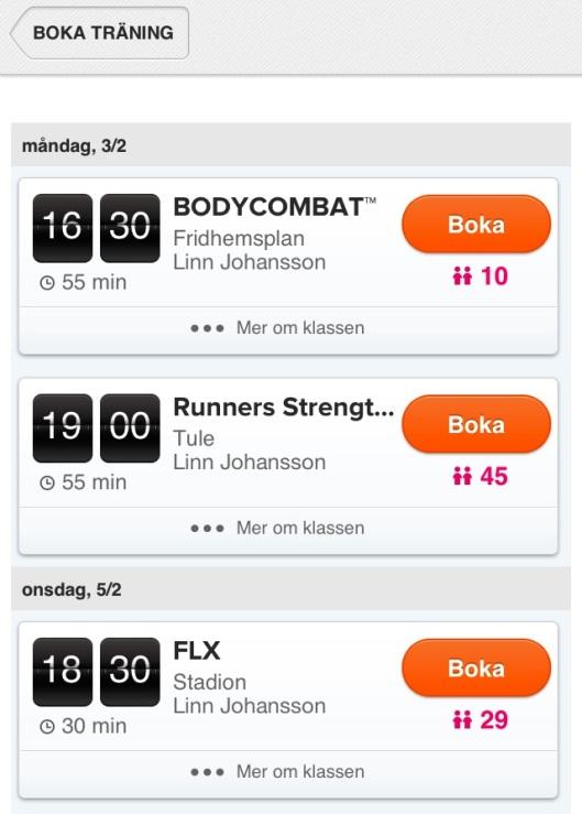 linn johansson sats urban tribes bodycombat runners strength flx