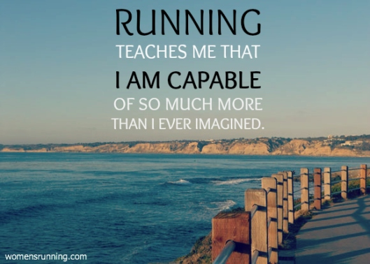 running inspiration teaches me that i am capable
